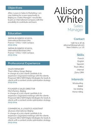 Mycvfactory-modern resume-256-ENG