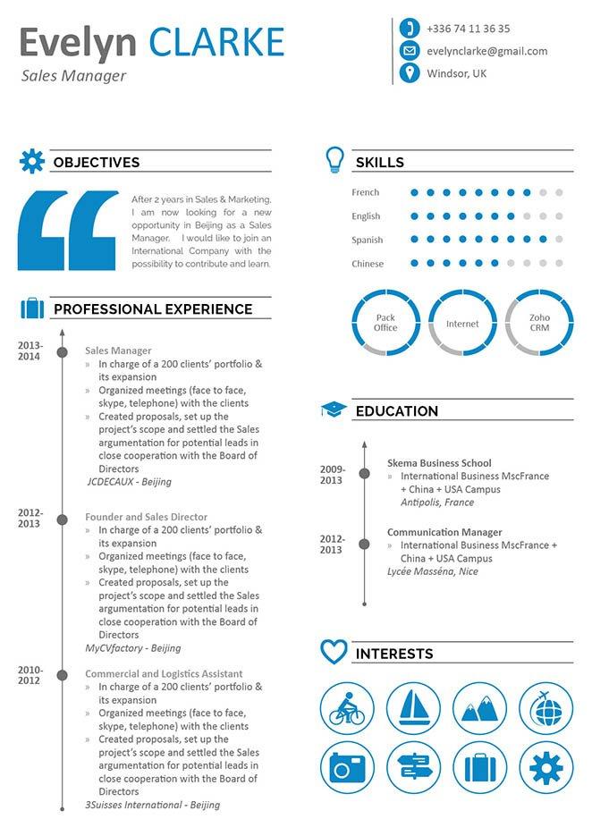 Mycvfactory-modern resume-25-ENG