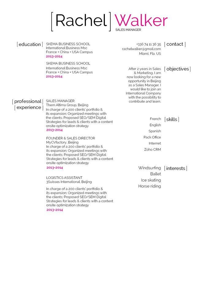 Mycvfactory-modern resume-261-ENG