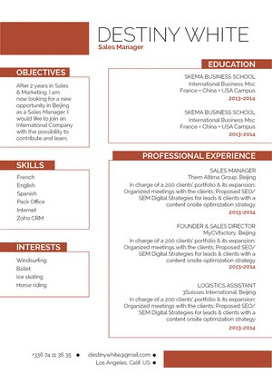Mycvfactory-modern resume-263-ENG
