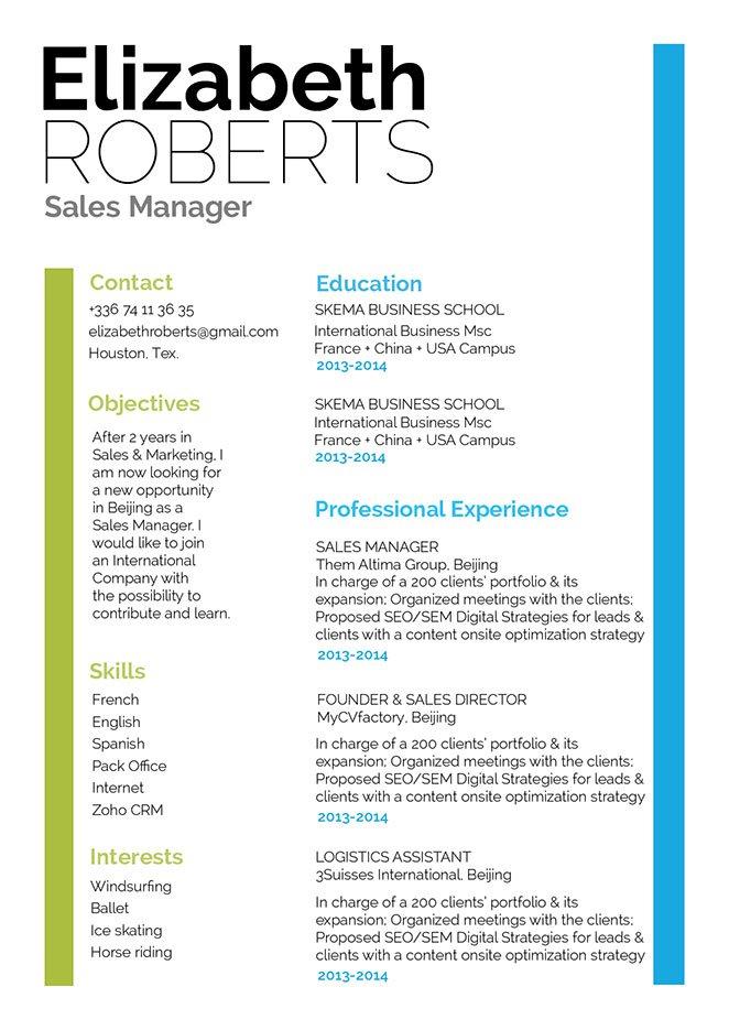 Mycvfactory-modern resume-264-ENG