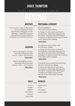 Mycvfactory-original resume-266-ENG