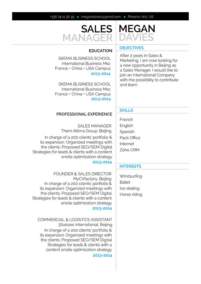 Mycvfactory-modern resume-267-ENG