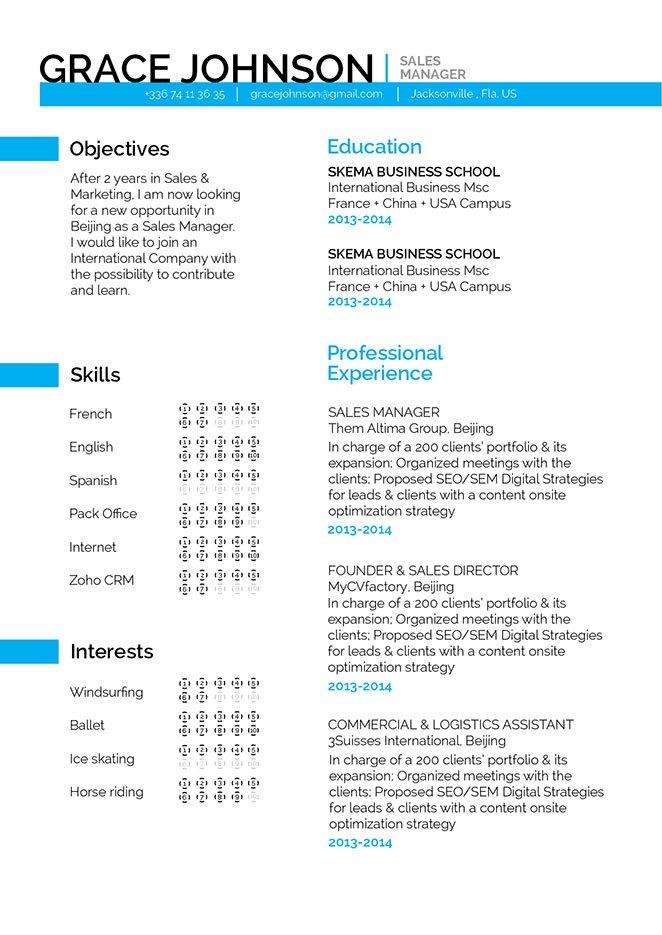 Mycvfactory-modern resume-269-ENG