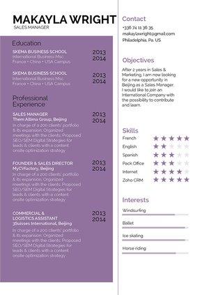 Mycvfactory-original resume-271-ENG