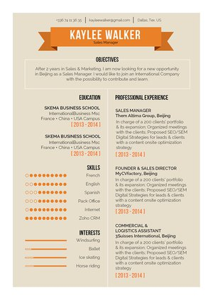 Mycvfactory-resume templates-278-ENG
