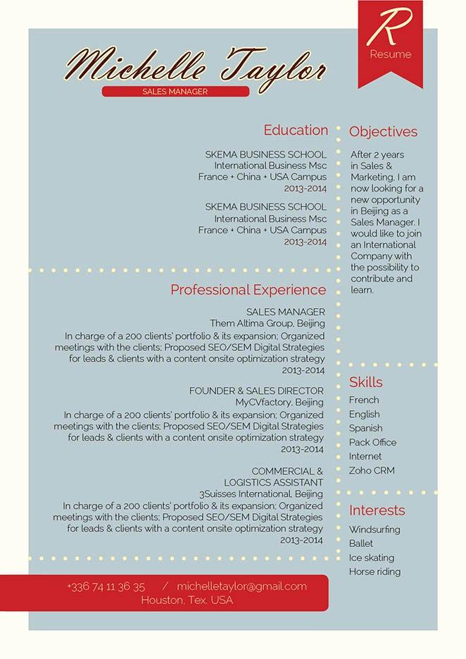 Mycvfactory-resume templates-280-ENG