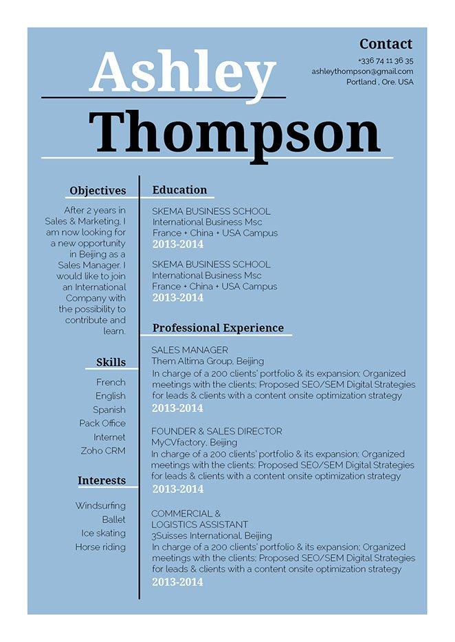 Mycvfactory-resume templates-287-ENG