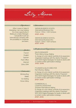 Mycvfactory-resume templates-292-ENG