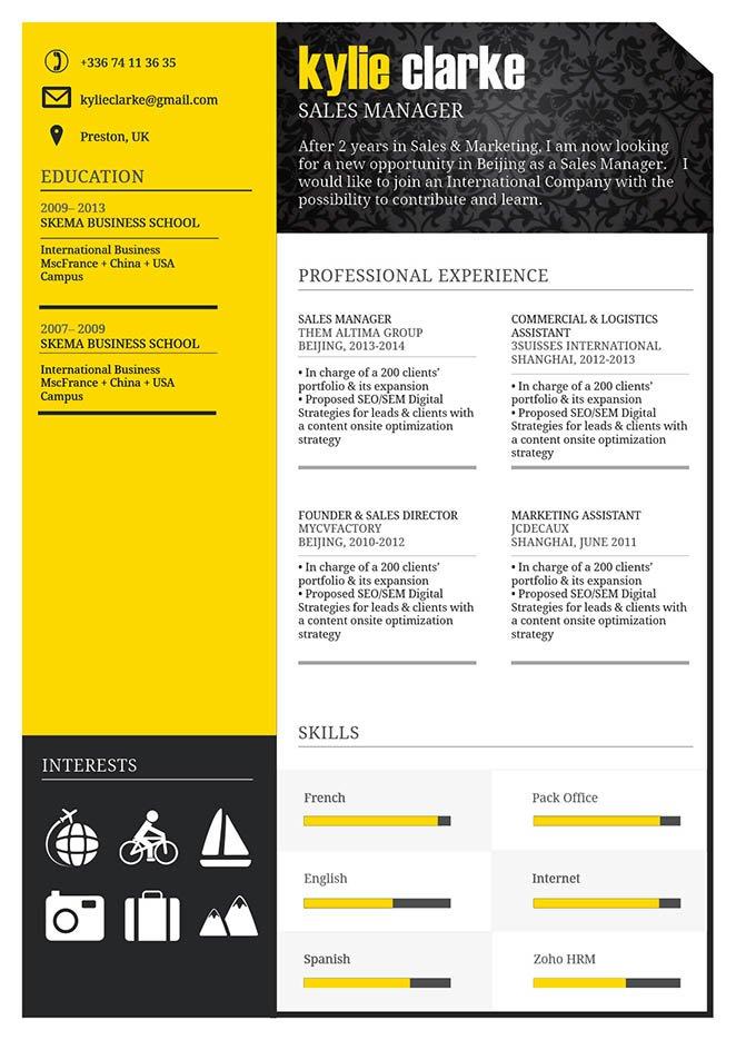 mycvfactory original resume 29 eng - Keynote Resume Template