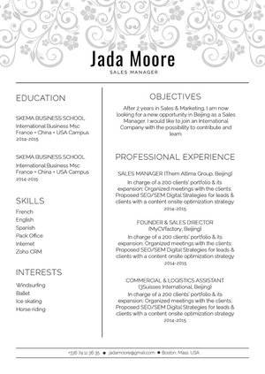 Mycvfactory-original resume-304-ENG