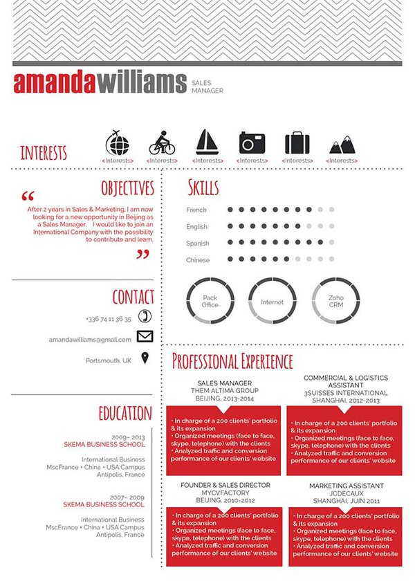 Mycvfactory-modern resume-30-ENG