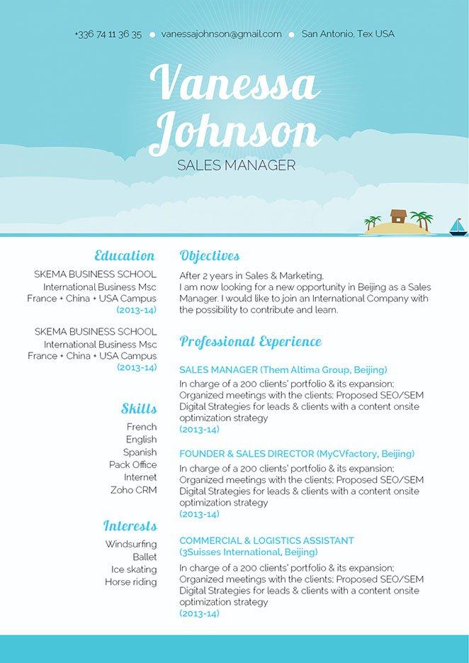Mycvfactory-original resume-312-ENG