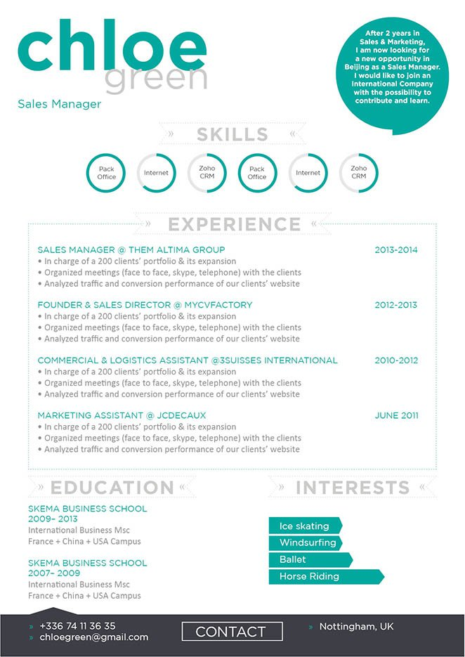 Mycvfactory-modern resume-33-ENG
