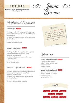 Mycvfactory-modern resume-36-ENG
