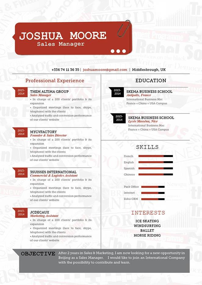 Mycvfactory-original resume-37-ENG