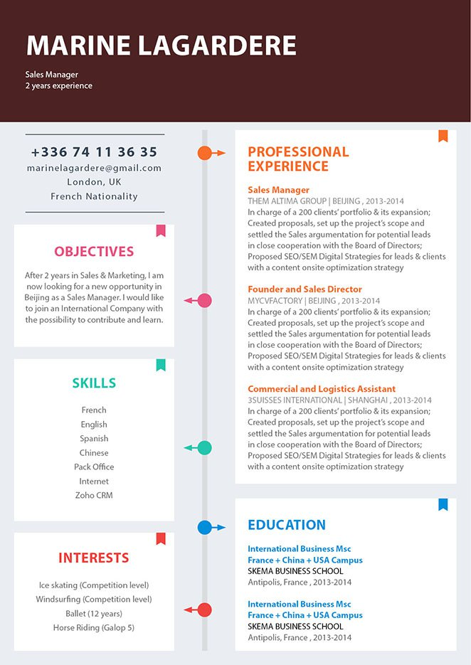 keynote resume template 21 stunning creative resume templates - Keynote Resume Template
