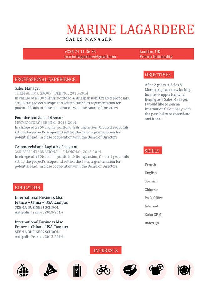 Mycvfactory-resume templates-65-ENG