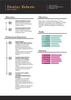 Mycvfactory-modern resume-189-ENG