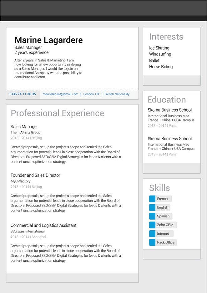 Mycvfactory-original resume-89-ENG