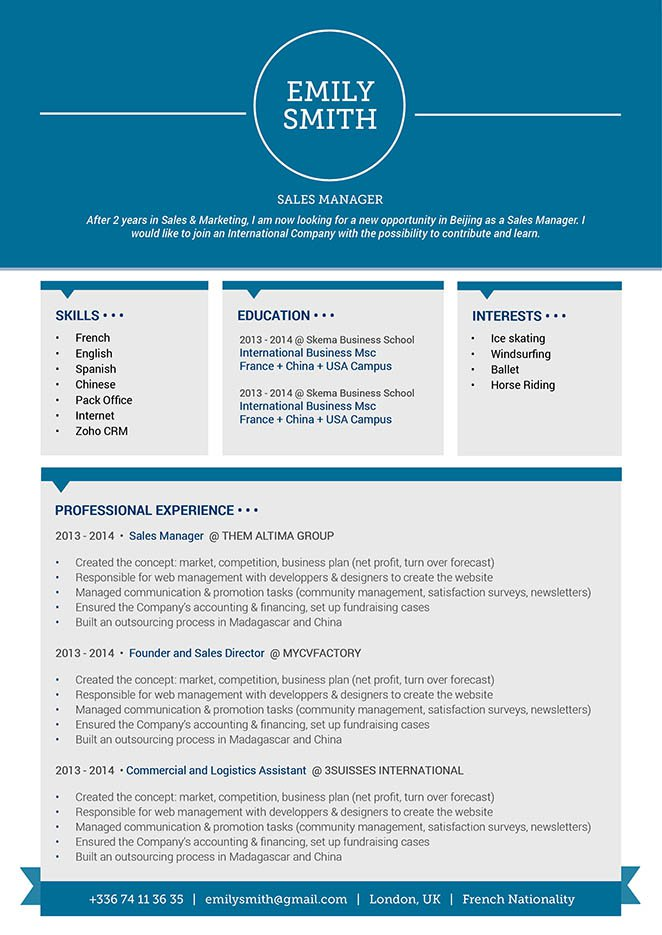 Mycvfactory-original resume-93-ENG
