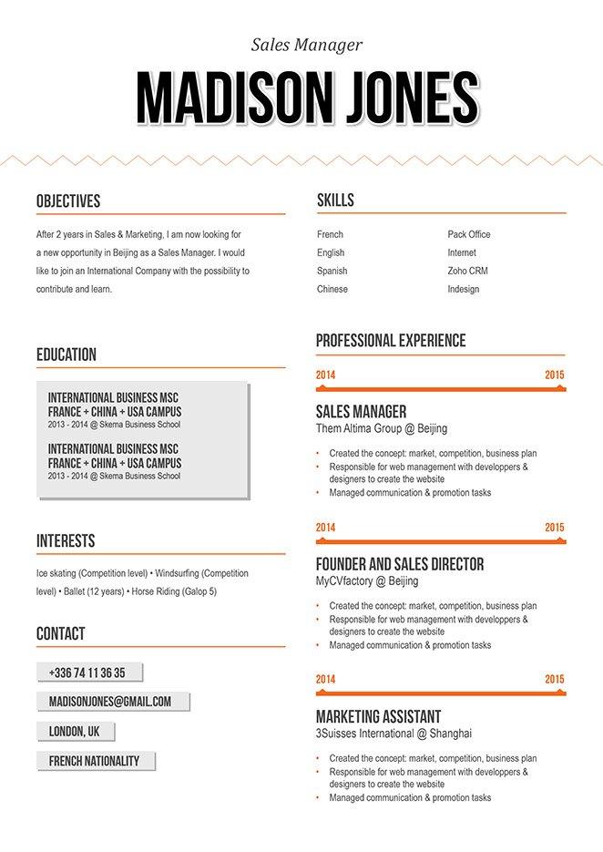 Mycvfactory-original resume-95-ENG
