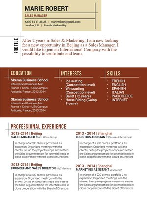 Mycvfactory-modern resume-97-ENG