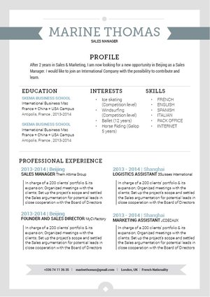 Mycvfactory-modern resume-98-ENG